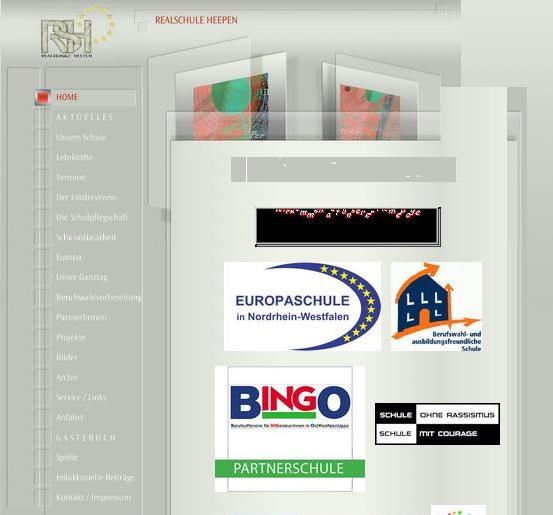 Alte Homepage klein